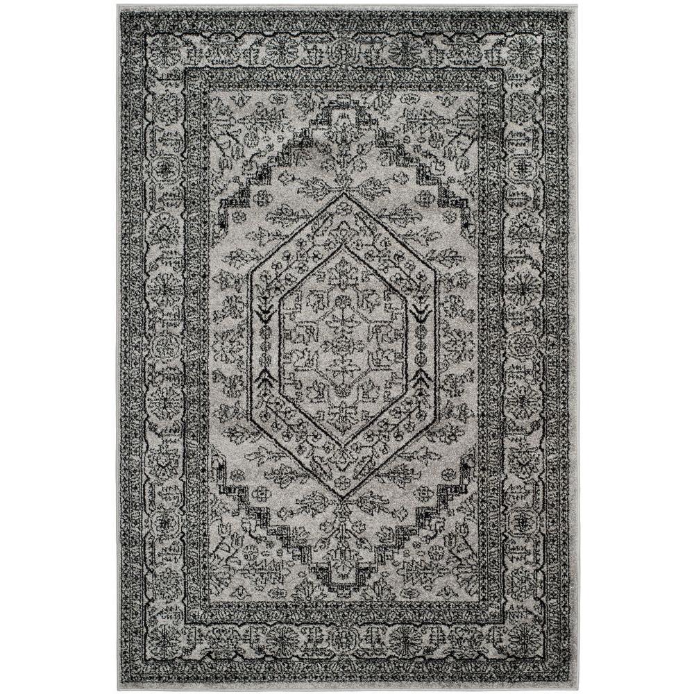 Safavieh Adirondack Silver Black 8 Ft X 10 Ft Area Rug
