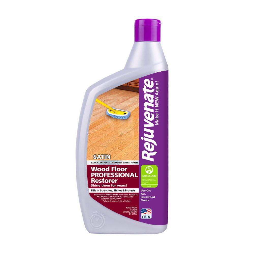 Rejuvenate 32 oz professional satin finish wood floor Rejuvenate wood floor