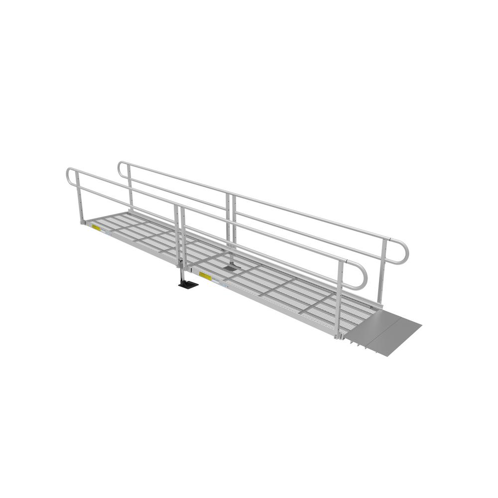 16 ft. Expanded Metal Ramp Kit