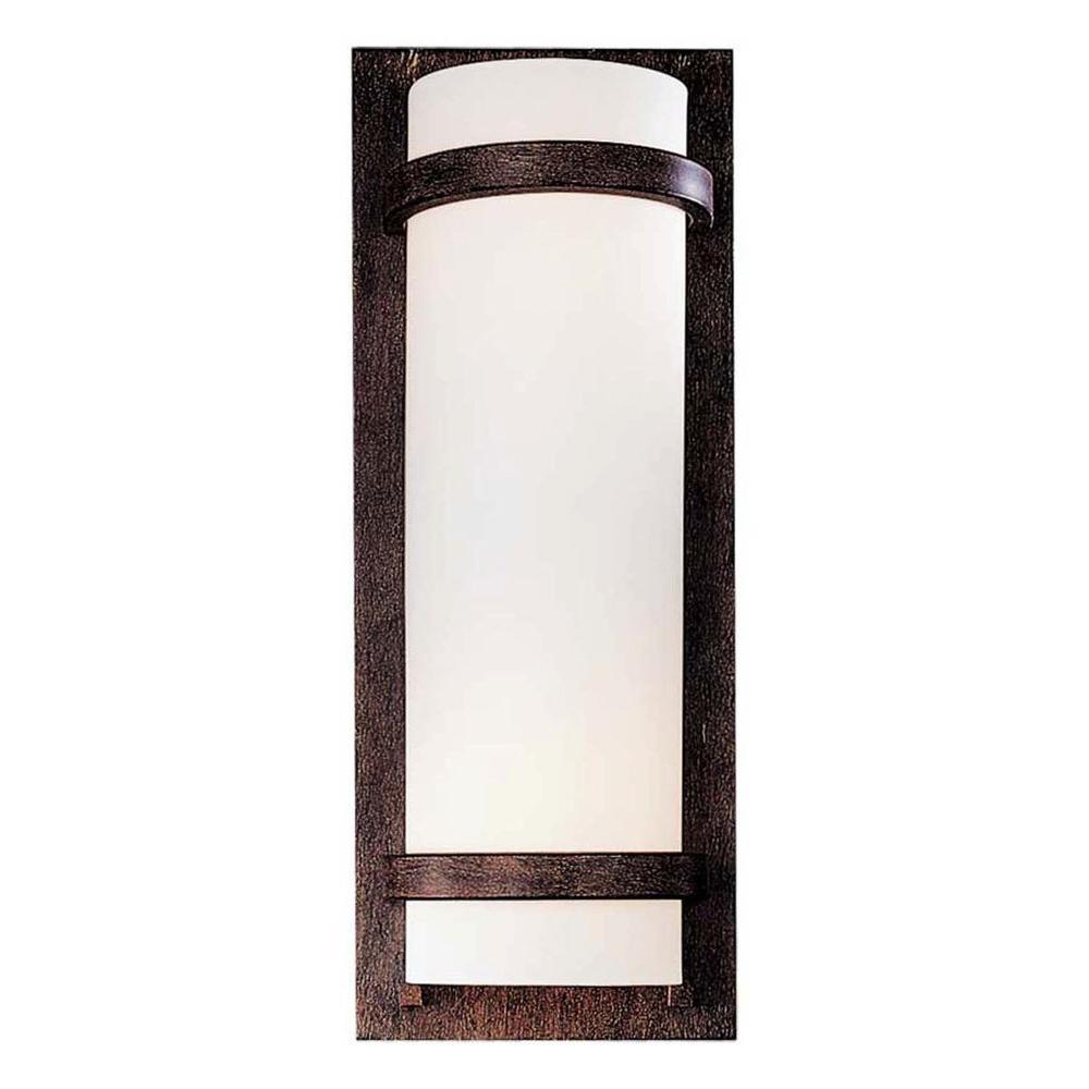 2-Light Iron Oxide Sconce