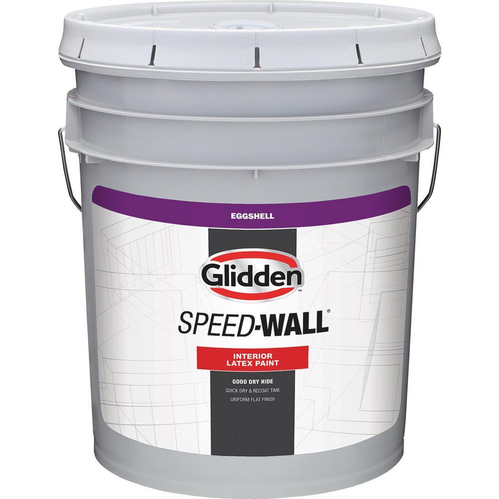 Glidden Pro At The Home Depot: Glidden Professional 5 Gal. Speed-Wall Eggshell Interior
