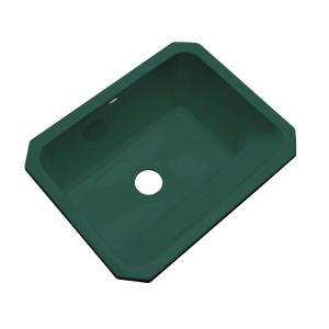 Thermocast Kensington Undermount Acrylic 25 inch Single Bowl Utility Sink in Rain Forest by Thermocast