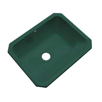 Kensington Undermount Acrylic 25 in. Single Bowl Utility Sink in Rain Forest