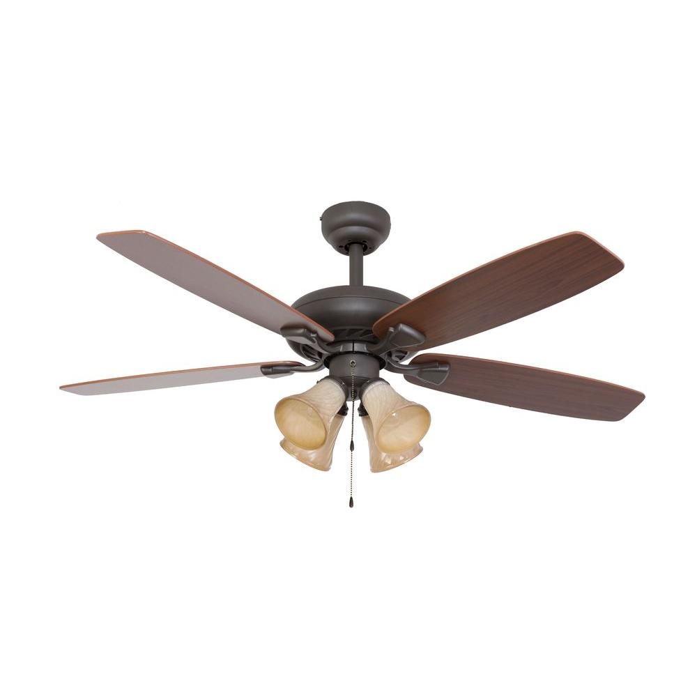 new style ceiling fans hidden light fixture sahara fans ardmore 52 in bronze ceiling fan fan10042 the home depot