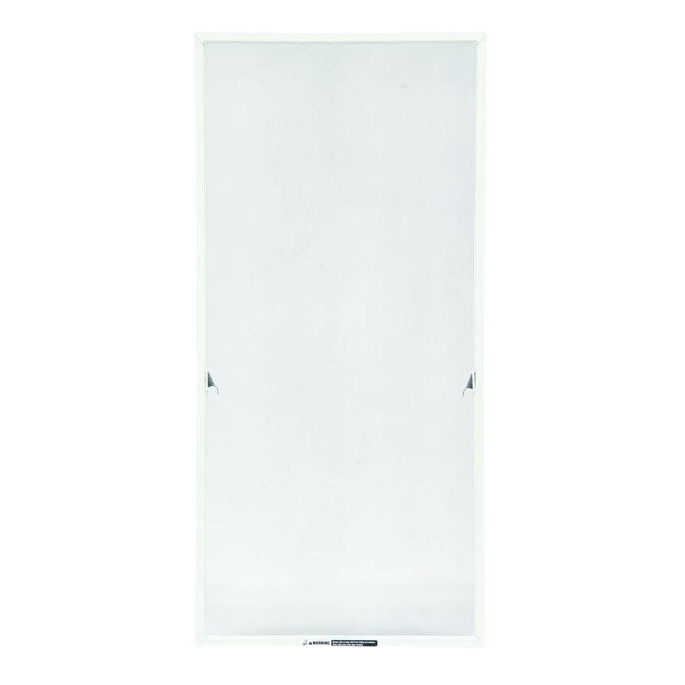 Andersen TruScene 20-11/16 in. x 48-11/32 in. White Aluminum Casement Insect Screen