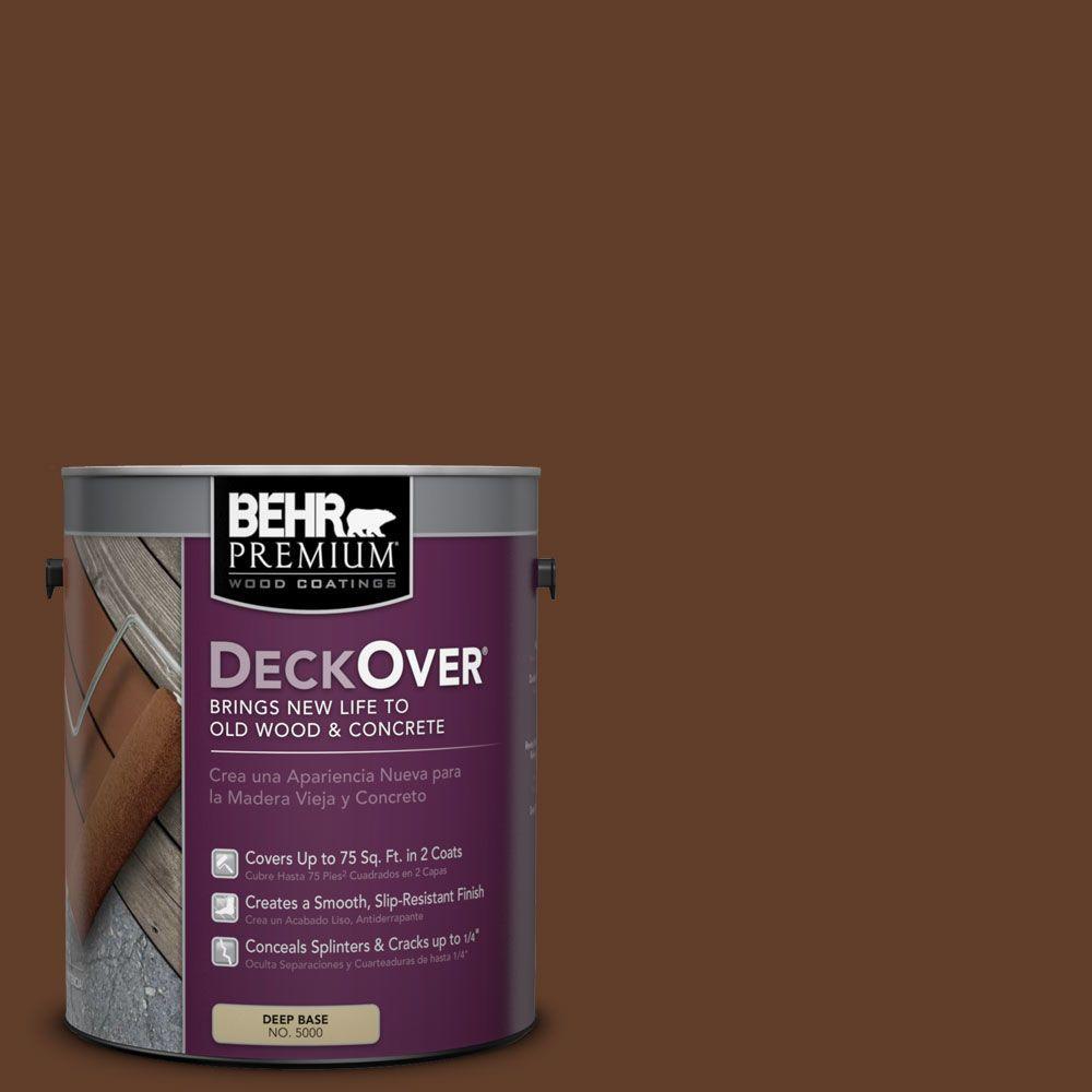 BEHR Premium DeckOver 1 gal. #SC-135 Sable Wood and Concrete Coating