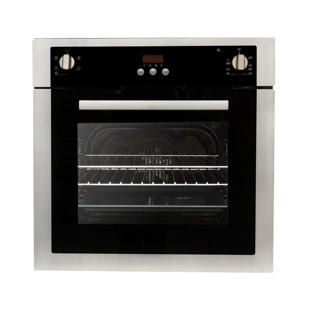 Cosmo 24 In 2 Cu Ft Single Electric Wall Oven With 5