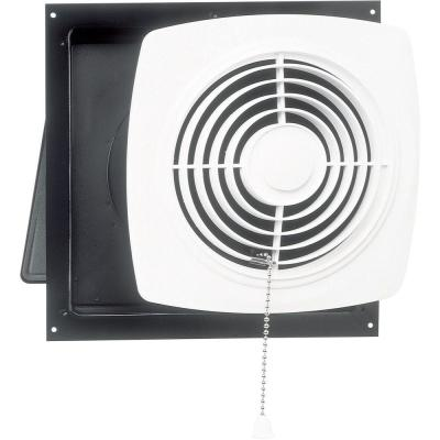 470 CFM Wall Chain-Operated Bathroom Exhaust Fan