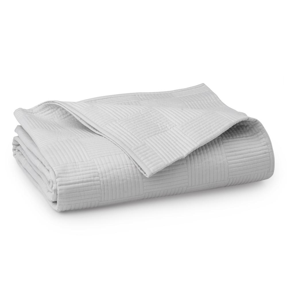 WELHOME The Preston Cotton Pearl Gray King Quilt, White was $150.99 now $83.04 (45.0% off)