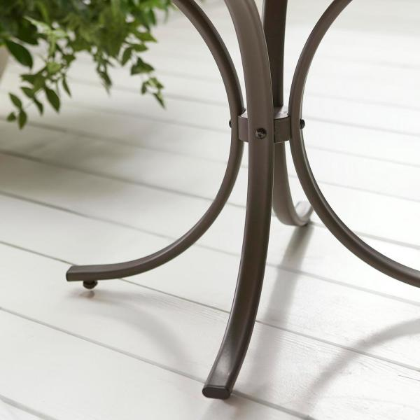 Square Steel Outdoor Patio Side Table