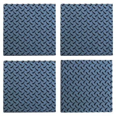 12 in. x 12 in. Adhesive Rubber Step Cover
