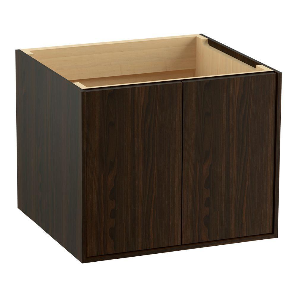 Jute 24 in. Vanity Cabinet Only in Jersey Oak