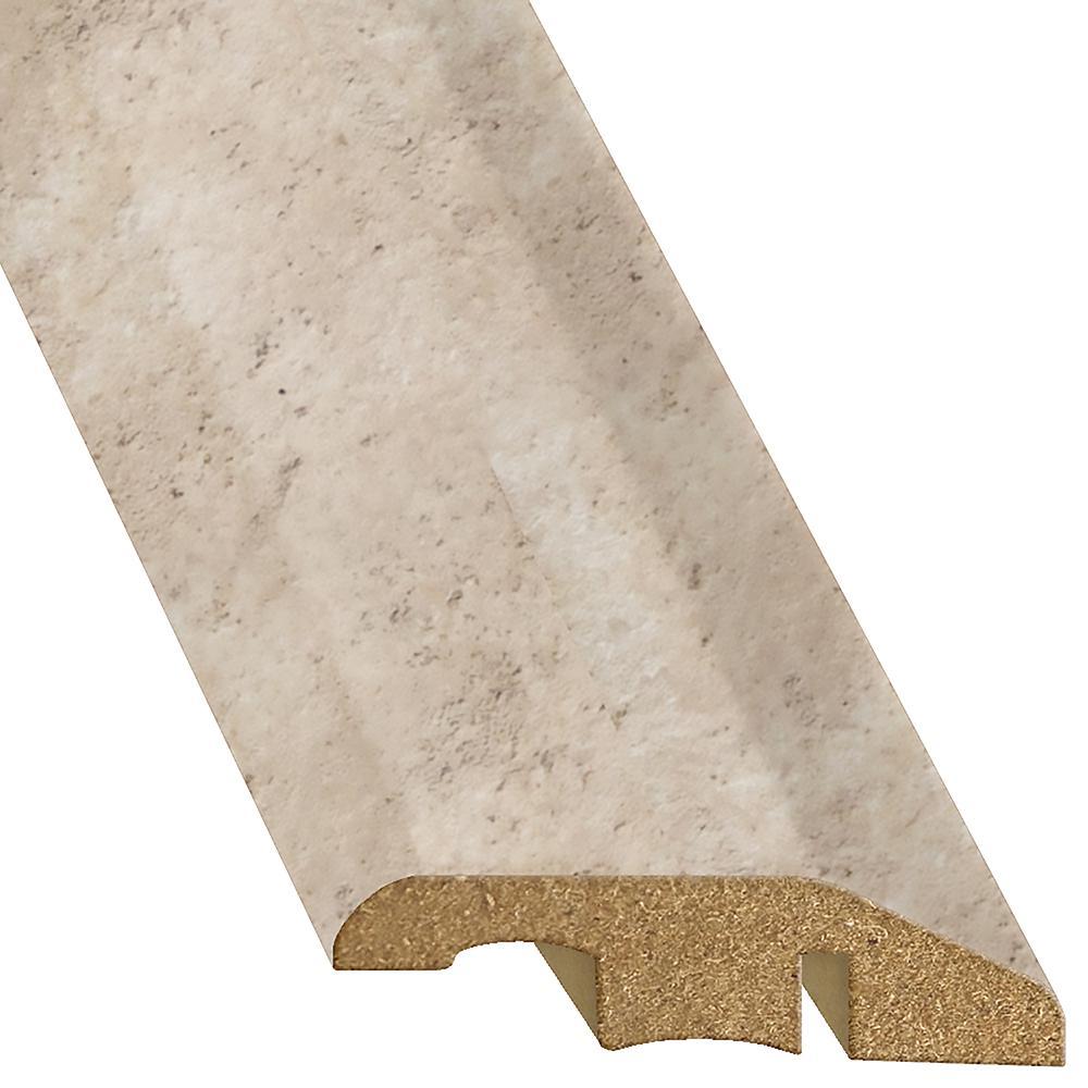 Tuscan Stone Sand 1/2 in. T x 1-3/4 in. W x 94-1/4 in. L Laminate Multi-Purpose Reducer Molding