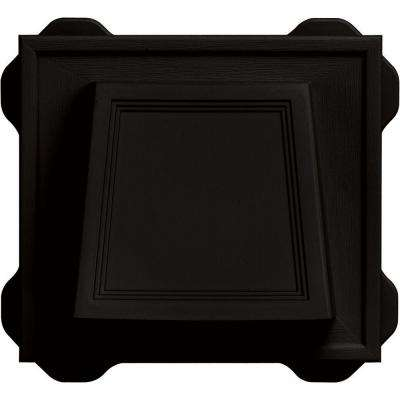 4 in. Hooded Vent #002-Black