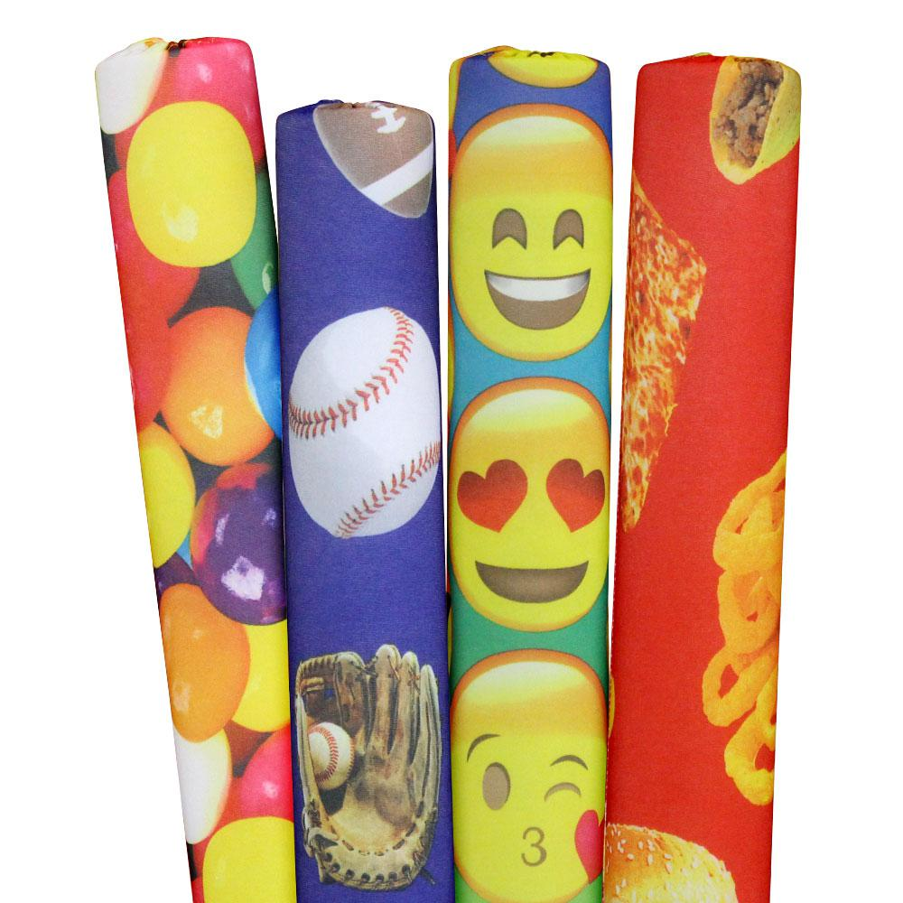 Sports, Emojis, Gumballs and Foods Pool Noodles (4-Pack)