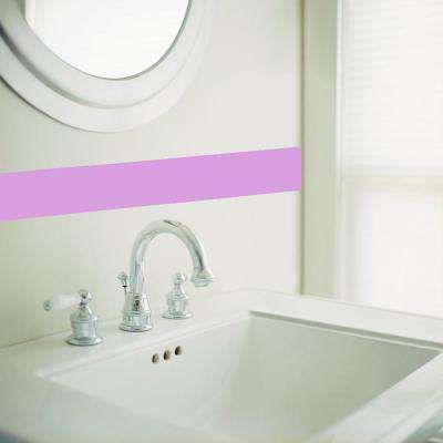 Lavender Simple Stripes Wall Decal