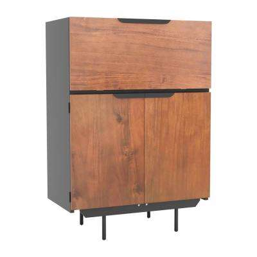 Stella Walnut Bar Cabinet