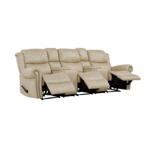 Fantastic Prolounger Distressed Latte Tan Faux Leather 3 Seat Rolled Ibusinesslaw Wood Chair Design Ideas Ibusinesslaworg