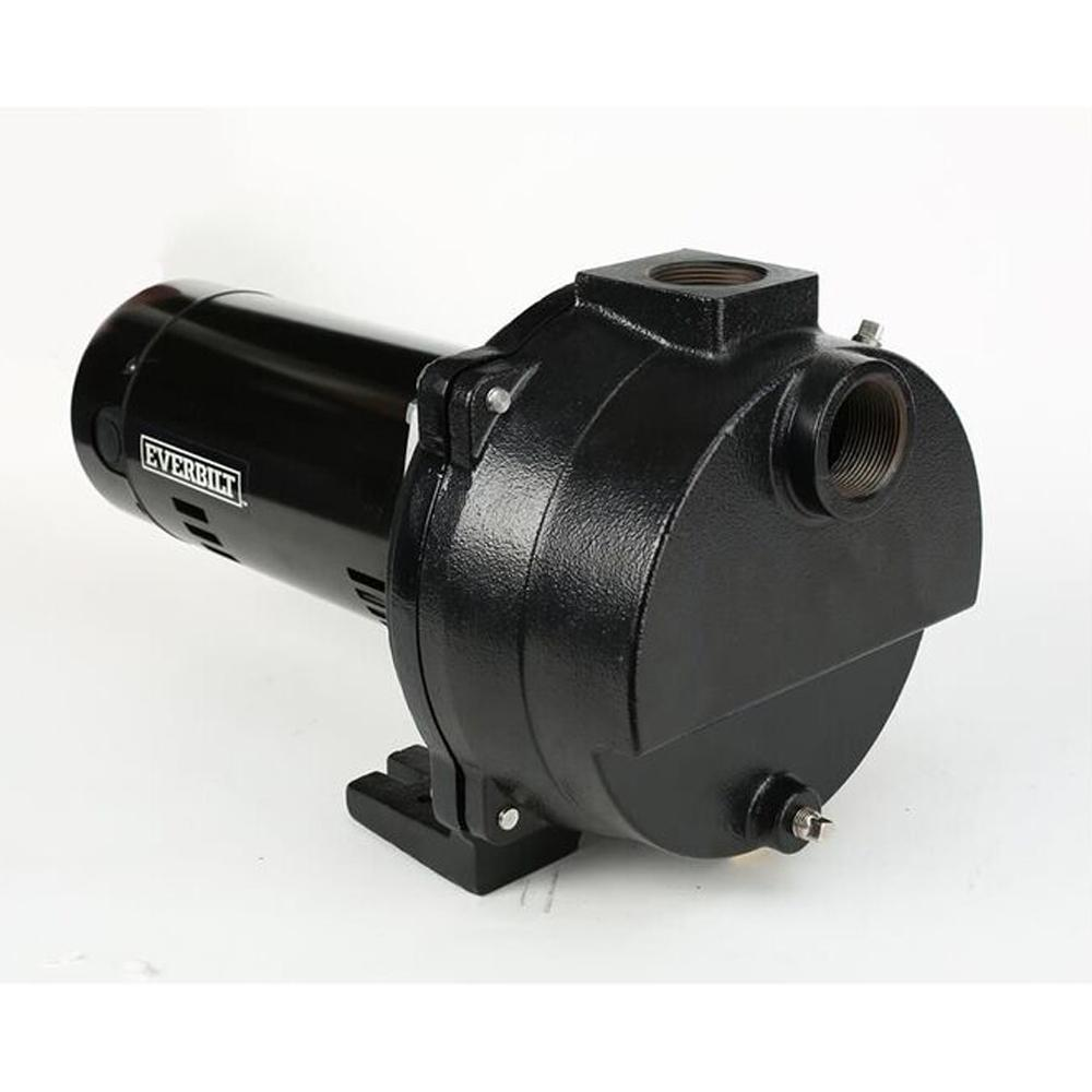 Everbilt 1 2 Hp Cast Iron Lawn Sprinkler Pump Efls15ci Hd The Star 3 4 Water Electirc Wiring Diagram