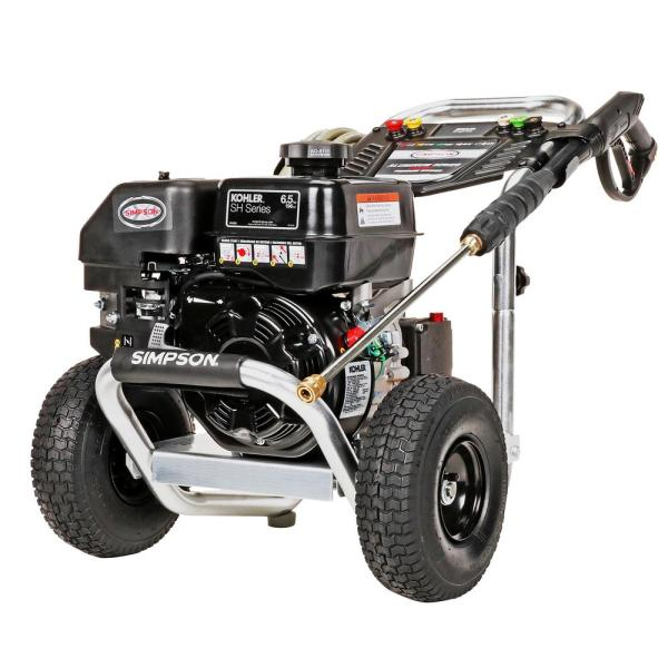 Aluminum ALH3225-S 3200 PSI at 2.5 GPM KOHLER SH265 Cold Water Pressure Washer