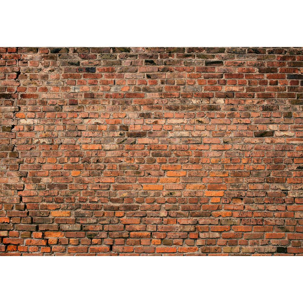 Brick Wall Red Wall Mural