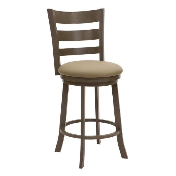 Taylor Gray Home Brussels 26 in. Dillon Balsa Swivel Barstool B510H26S