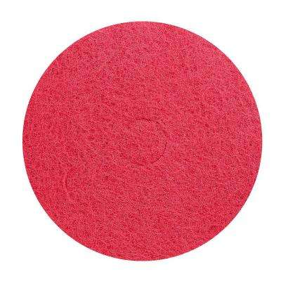 17 in. Light Medium Floor Buffing Pad