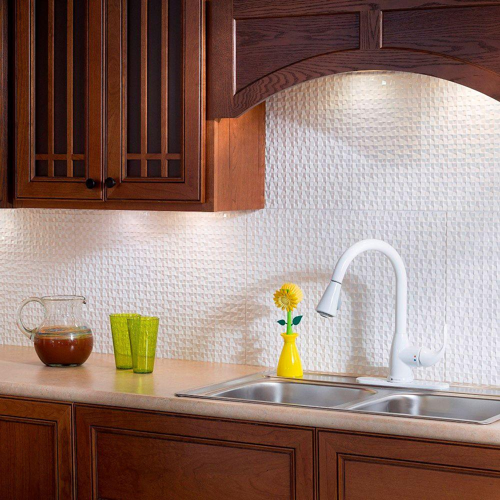 thermoplastic panels kitchen backsplash fasade 24 in x 18 in terrain pvc decorative tile 6095
