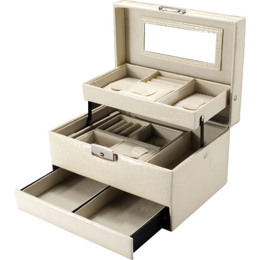 BARSKA JC-300 Large Jewelry Case Cheri Bliss with Keys
