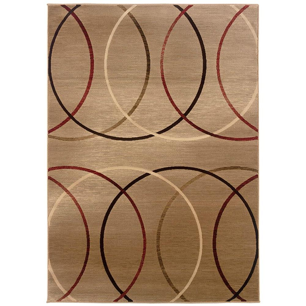 LR Resources Lasso Cooling 7 ft. 10 in. x 11 ft. 2 in. Plush Indoor Area Rug
