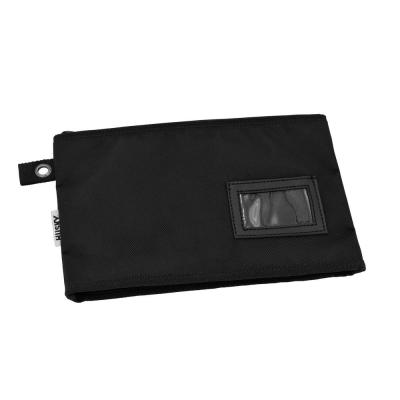 12 in Document Organizer Bag Pouch Water Resistant with business card holder and zipped top with 2 internal pockets