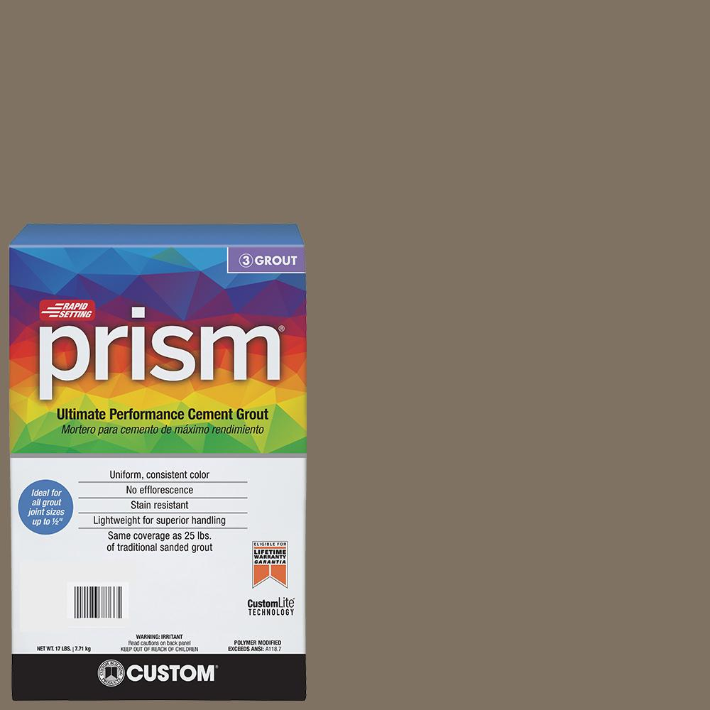 Custom Building Products Prism #544 Rolling Fog 17 lb. Grout