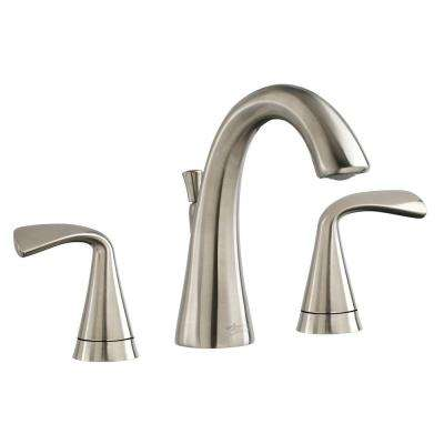 Fluent 8 in. Widespread 2-Handle Bathroom Faucet with Speed Connect Drain in Brushed Nickel