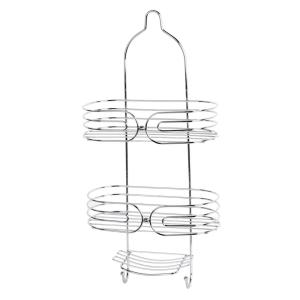 HOME basics Shower Caddy in Chrome by HOME basics