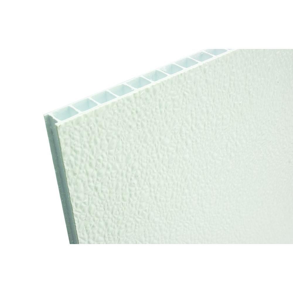 FiberCorr 0 350 in  x 48 in  x 96 in  Corrugated FRP Wall Panel