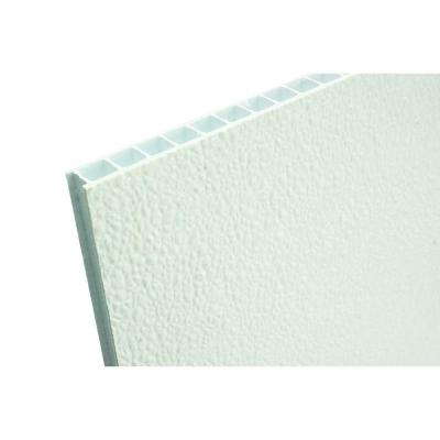 0.350 in. x 48 in. x 96 in. Corrugated FRP Wall Panel