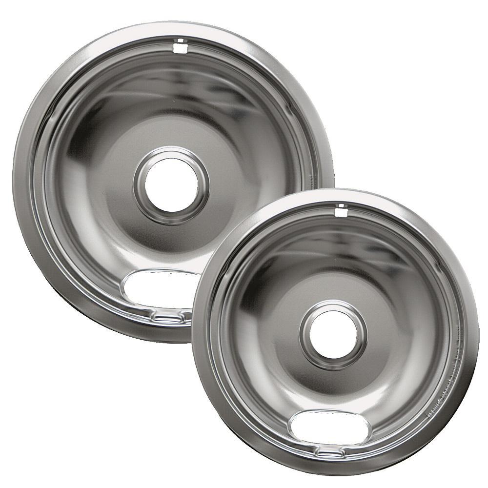 ClimaTek Stove 8 Chrome Drip Bowl Pan fits Kelvinator Sears P062003 P062006 PS437595