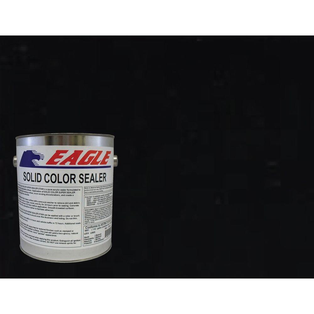 1 gal. Blackness Solid Color Solvent Based Concrete Sealer