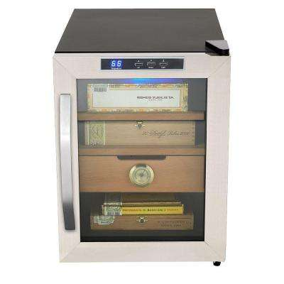Stainless Steel 1.2 cu. ft. Cigar Cooler Humidor