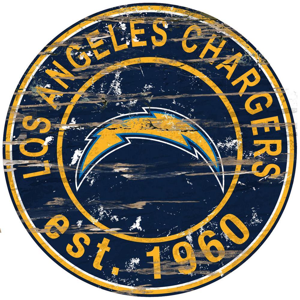 "San Diego Chargers Established: Adventure Furniture 24"" NFL Dallas Cowboys Round"