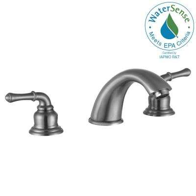 Princess 8 in. Widespread 2-Handle Bathroom Faucet in Brushed Nickel