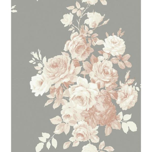 Magnolia Home By Joanna Gaines 56 Sqft Tea Rose Wallpaper Me1530