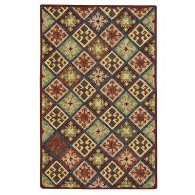 Shakta Quilt Multitone 9 ft. x 12 ft. Area Rug