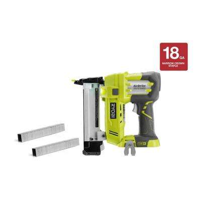 18-Volt ONE+ Cordless AirStrike 18-Gauge Narrow Crown Stapler (Tool-Only)