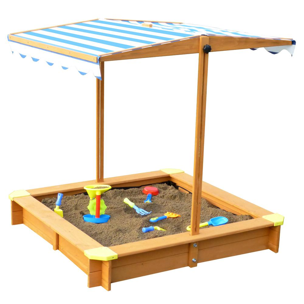 Turtleplay 3 83 Ft X 3 83 Ft X 3 83 Ft Sandbox With