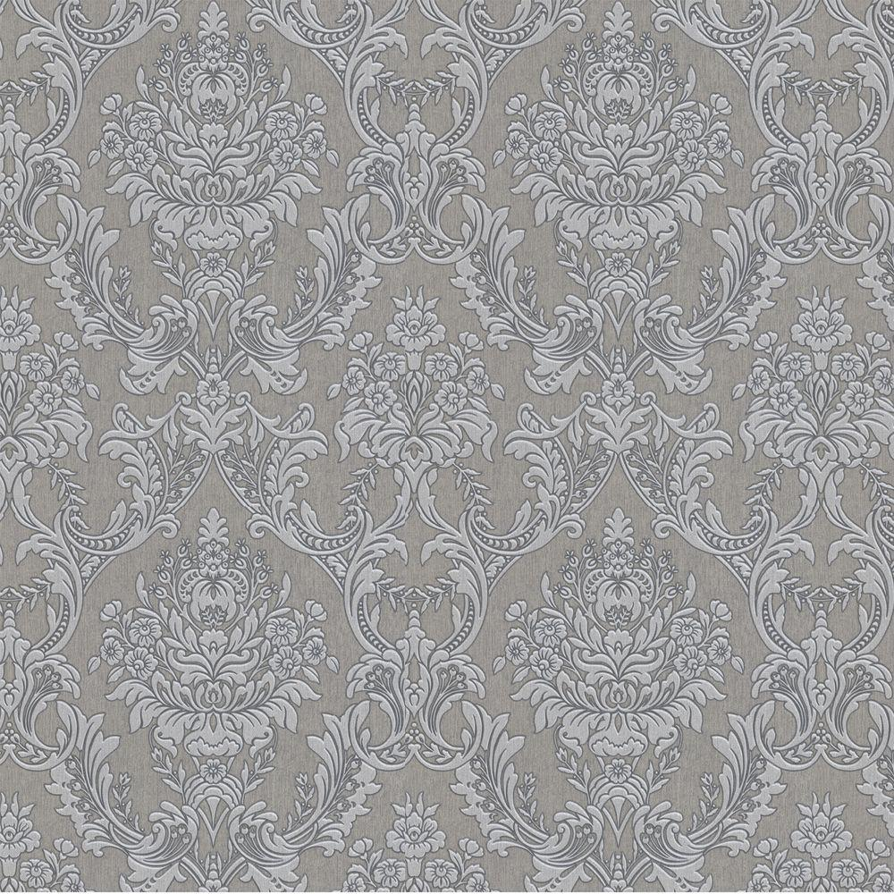 Graham Brown Pearl And Gray Linden Removable Wallpaper