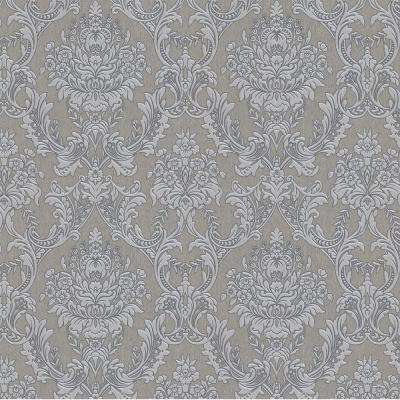 Province Gray Removable Wallpaper