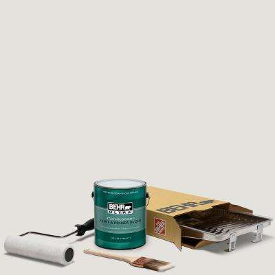 1 gal. #PPU18-08 Painters White Ultra Semi-Gloss Enamel Interior Paint and 5-Piece Wooster Set All-in-One Project Kit