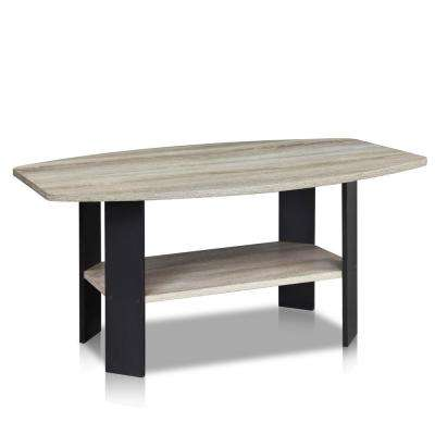 Simple Design French Oak Grey Coffee Table
