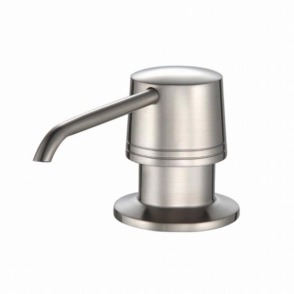 Soap Dispenser in Satin Nickel